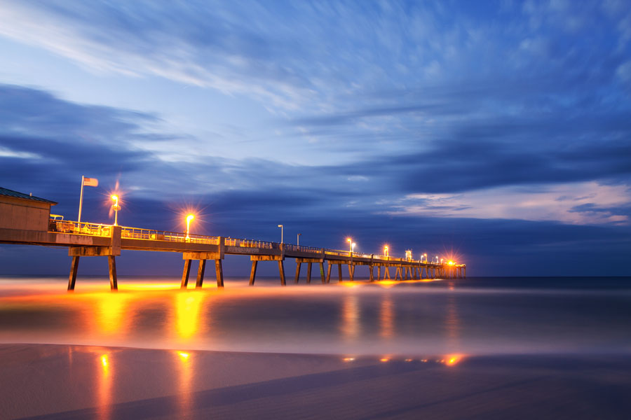 Okaloosa island fishing pier malcolm macgregor photography for Fishing destin fl