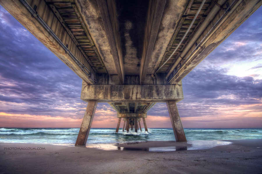 okaloosa island fishing pier, ft walton beach florida