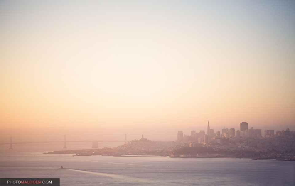 San Francisco in Morning Light